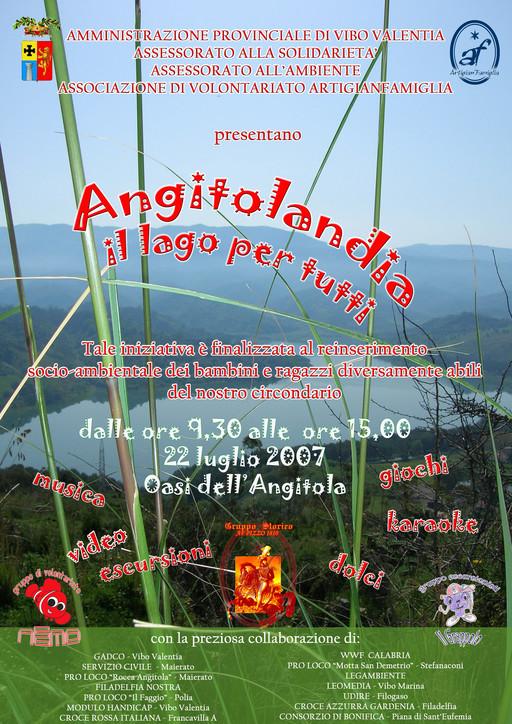 """""""Angitolandia – il lago per tutti"""""""